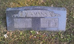 Harriet Laura <i>Grover</i> Ackmann