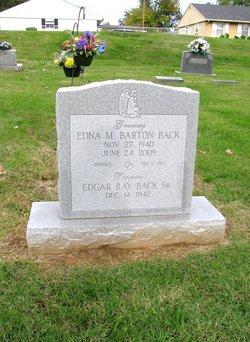 Edna M. <i>Barton</i> Back
