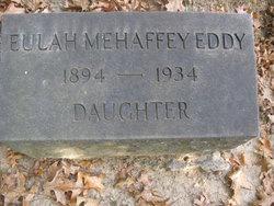 Eulah <i>Mehaffey</i> Eddy