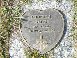 Phoebe J Allen