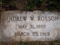 Andrew W. Rosson