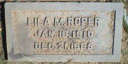 Lila M Roper