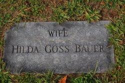 Hilda Naomi <i>Goss</i> Bauer