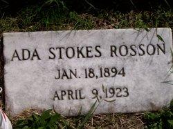 Ada <i>Stokes</i> Rosson