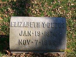 Elizabeth Frances Lizzie <i>York</i> Debus