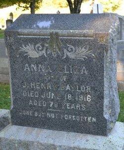 Anna Eliza Baylor