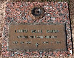 Leoto Belle <i>Johnson</i> Dixon