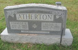 Elsie R <i>Crow</i> Atherton