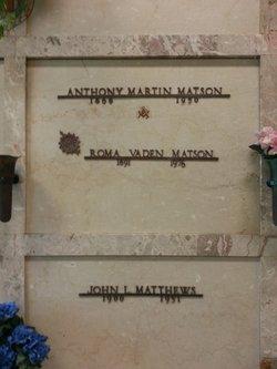 Anthony Martin Matson