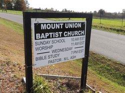 Mount Union Baptist Church Cemetery