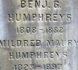 Mildred <i>Maury</i> Humphreys