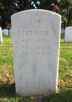 Gertrude J. Lambert