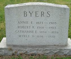 Annie E Byers