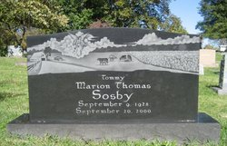 Marion Thomas Tommy Sosby