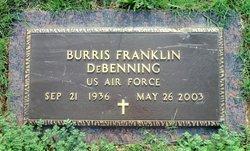 Burris Franklin Burr DeBenning, Sr