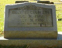 Billy E. Culbreth
