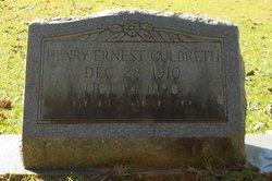 Henry Ernest Culbreth