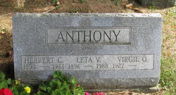 Leta Viola <i>Holbrook</i> Anthony