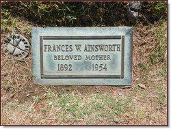 Wilda Medessa Frances <i>McDonald</i> Ainsworth