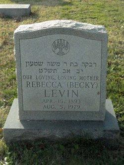 Rebecca Becky <i>Klitzner</i> Levin