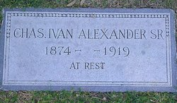 Charles Ivan Alexander, Sr