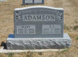 Mary <i>Bennett</i> Adamson