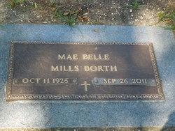 Mae Belle <i>Mills</i> Borth