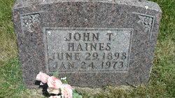 John Tracy Haines