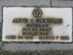 Alvin C Burnham