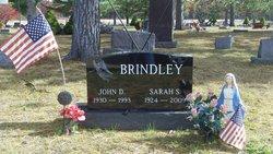 Sarah S <i>Steward</i> Brindley