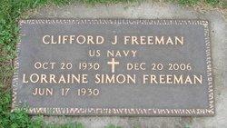 Lorraine Mary <i>Simon</i> Freeman
