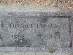 John Herman Riemath