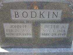 John Hagler Bodkin