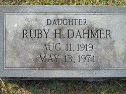 Ruby <i>Harold</i> Dahmer