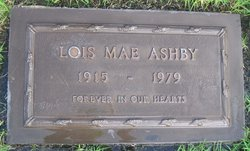Lois Mae <i>Ainsworth</i> Ashby