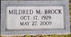 Mildred M. Brock