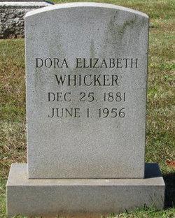 Dora Elizabeth <i>Larrimore</i> Whicker