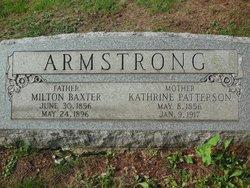 Milton Baxter Armstrong