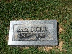 Mary Burrus