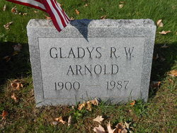 Gladys R W Arnold