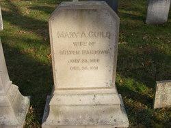 Mary Ann <i>Guild</i> Barrows
