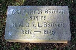 Asa Porter Grover