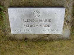 Blenda Marie <i>Roe</i> Satrom