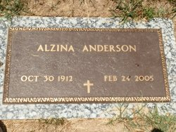 Alzina <i>Jones</i> Anderson