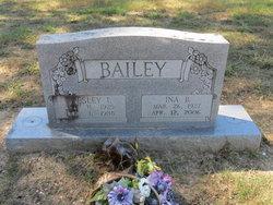 Ina Belle <i>Carter</i> Bailey