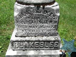 Jane <i>Bradley</i> Blakeslee