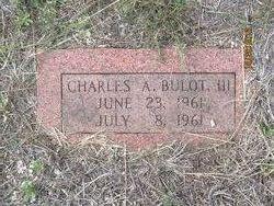 Charles A. Bulot, III