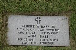 Albert W Bass, Jr