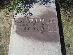George R Brock