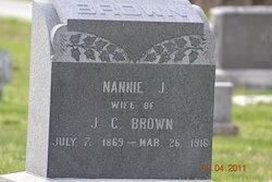 Nancy Jane Nannie <i>Curl</i> Brown